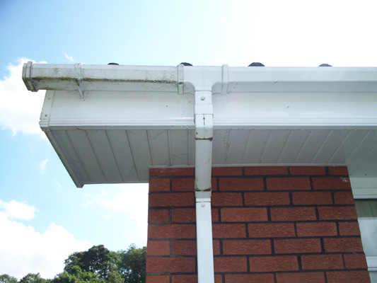Gutters and PVC Cleaning